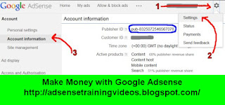 Google Adsense me apne Publisher Id ko kaise search kare?