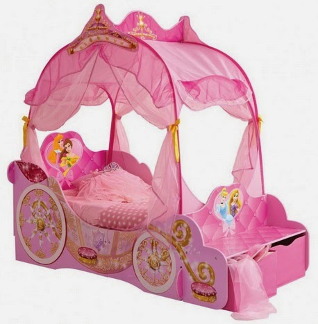 Cama carroza princesa Disney
