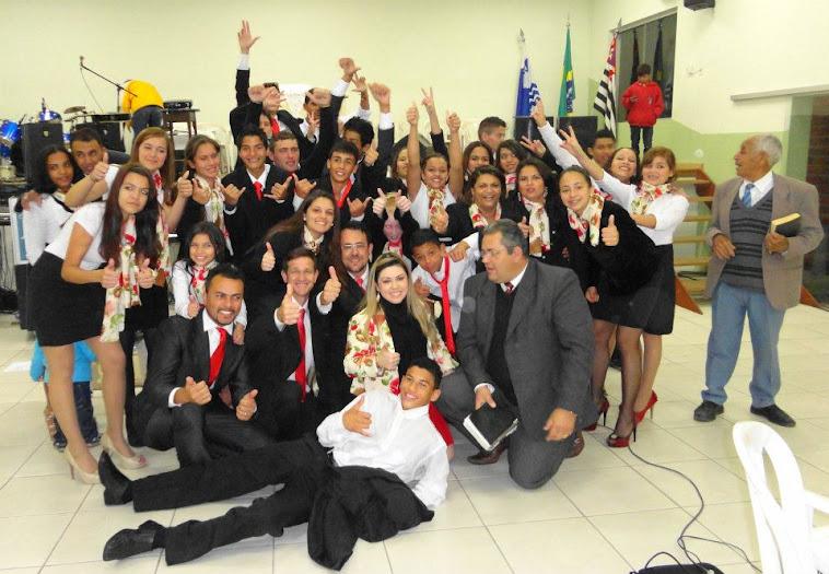 Grupo de Jovens de nossa Igreja