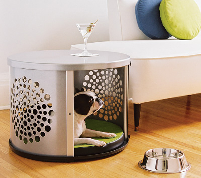 Awesome These DenHaus dog crates have seriously made it on to my wish list they would be so nice I love that they blend right in to your home instead of having