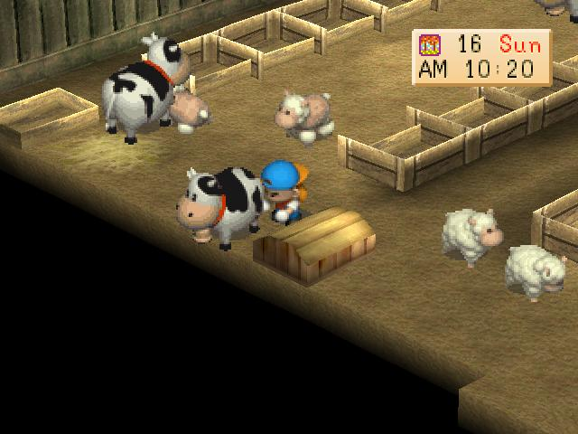 Harvest Moon Back to Nature Screenshot 3
