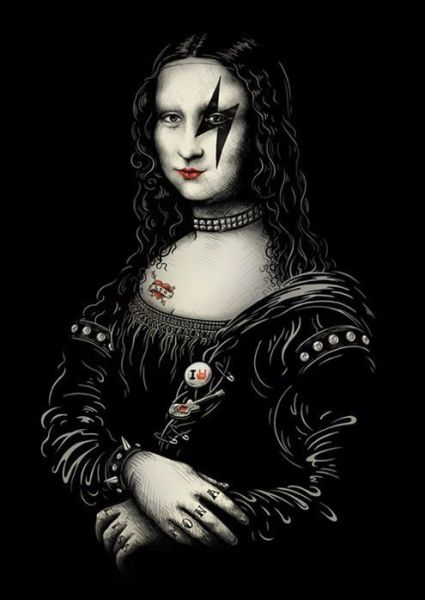 Mona Lisa roqueira