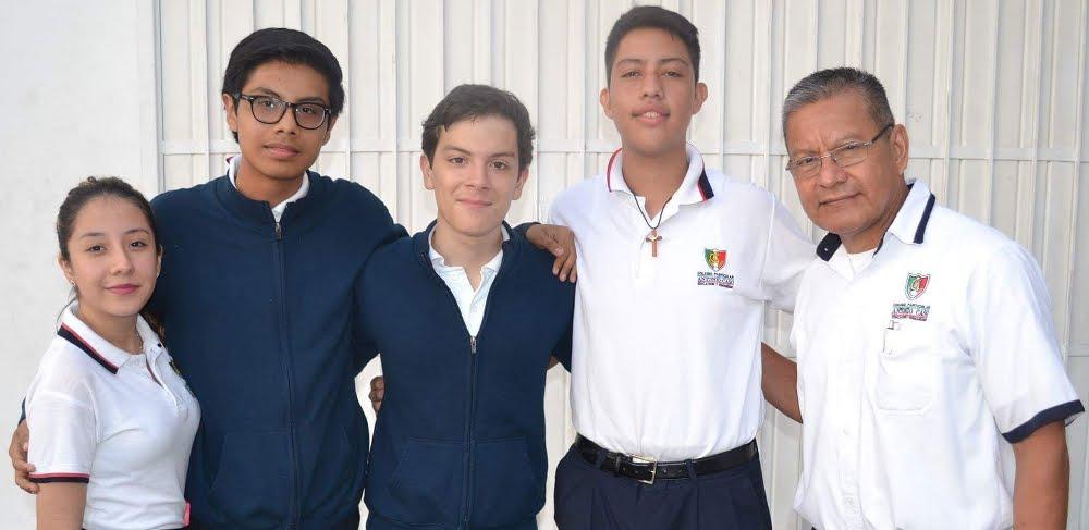 """OLIMPIADA DE BIOLOGÍA DEL MVZ JOSÉ LUIS RAMÍREZ PÉREZ EN EL """"COLEGIO PARTICULAR ANTONIO CASO"""""""
