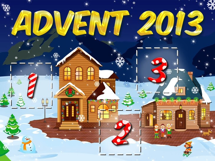 25 Days Of Christmas - Holiday Advent Calendar 2013 App iTunes App By MagicSolver.com Ltd - FreeApps.ws
