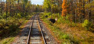 train tracks Jack Aiello