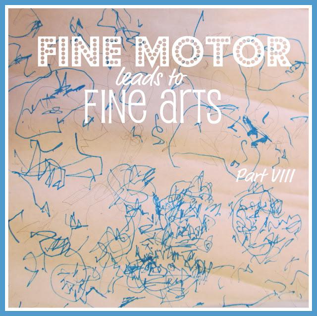 Fine Motor + Fine Arts