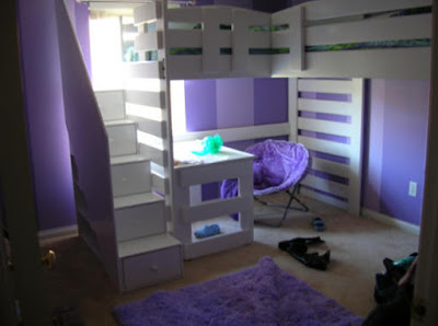 Bunk Bed With Storage Stairs And Desk