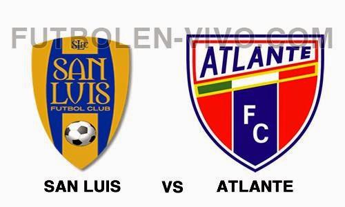 Atletico San Luis vs Atlante