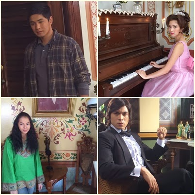 The cast of Ikaw Lamang: Coco, Kim, Julia and Jake