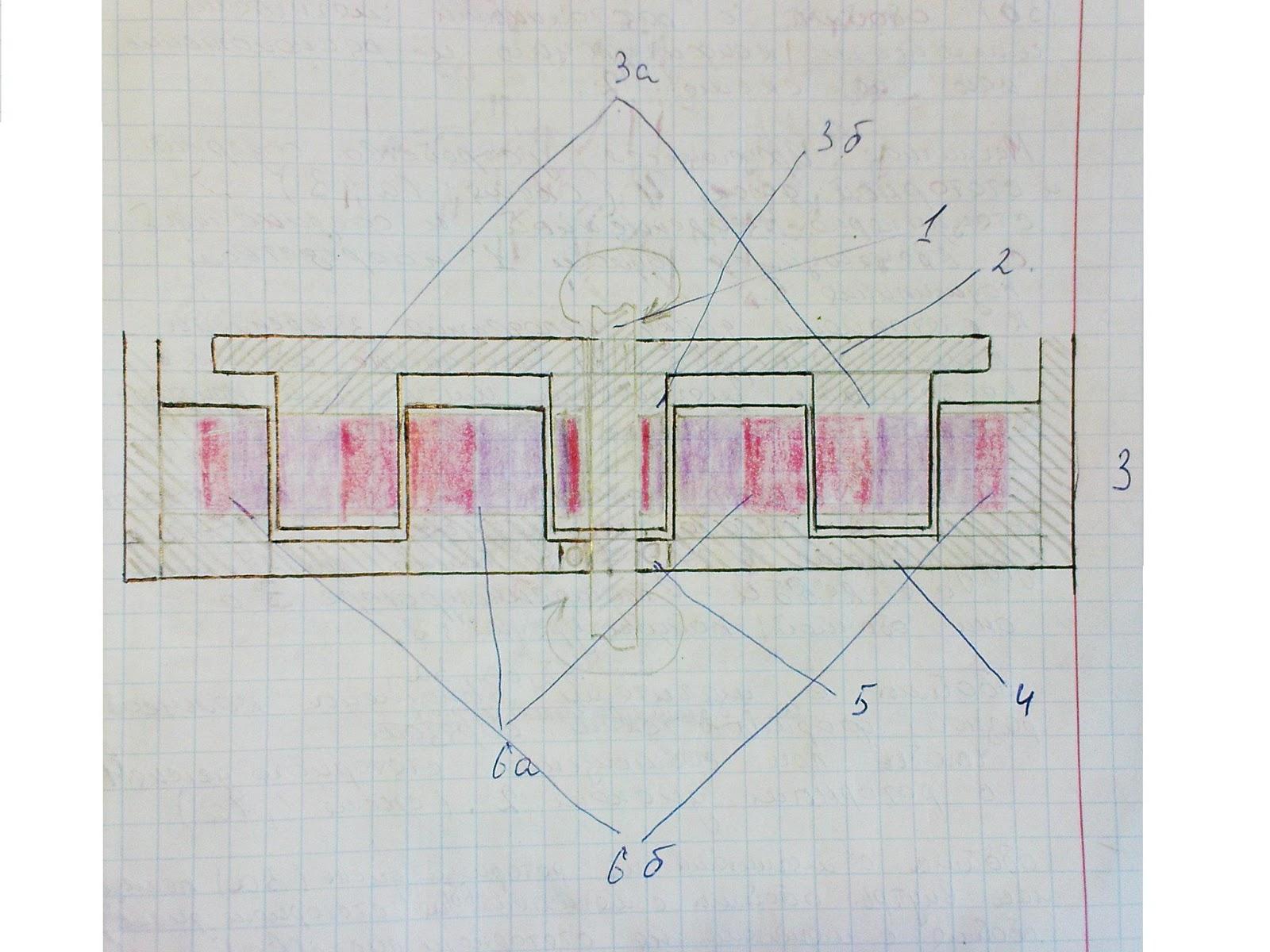 схема магнитного генератора 12v