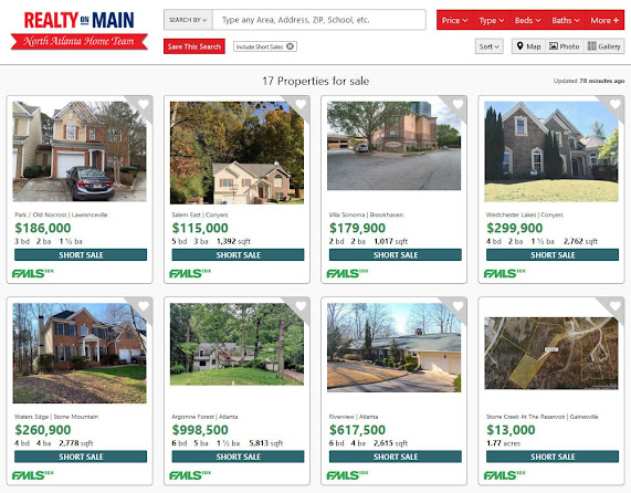 Short Sale Search-REALTY ON MAIN
