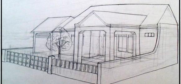 Gambar Sketsa Rumah Psikotes 28 Images Alusius Kristomo Mari Belajar Menggambar Sketsa
