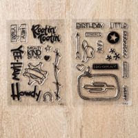 NEW Clear Stamps!
