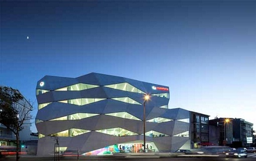 Modern Architecture Design Vodafone Headquarters Building