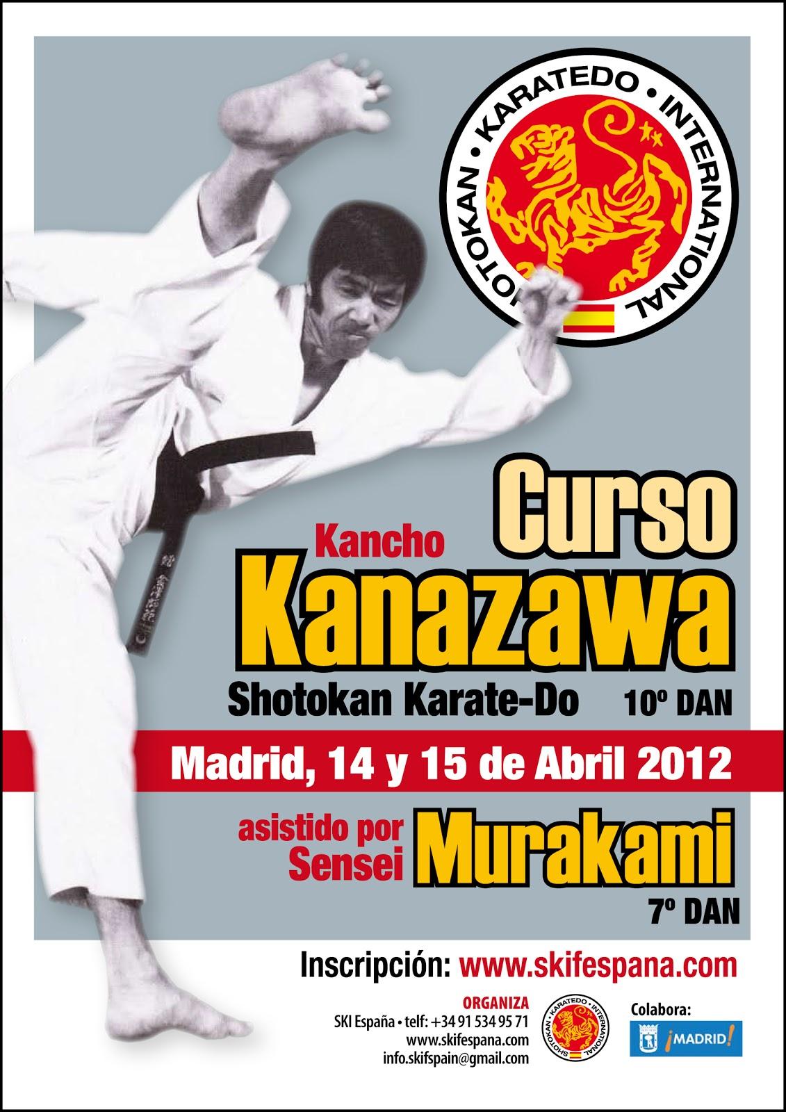 Karate colindres nuevo curso del kancho kanazawa en madrid for Curso de escaparatismo madrid
