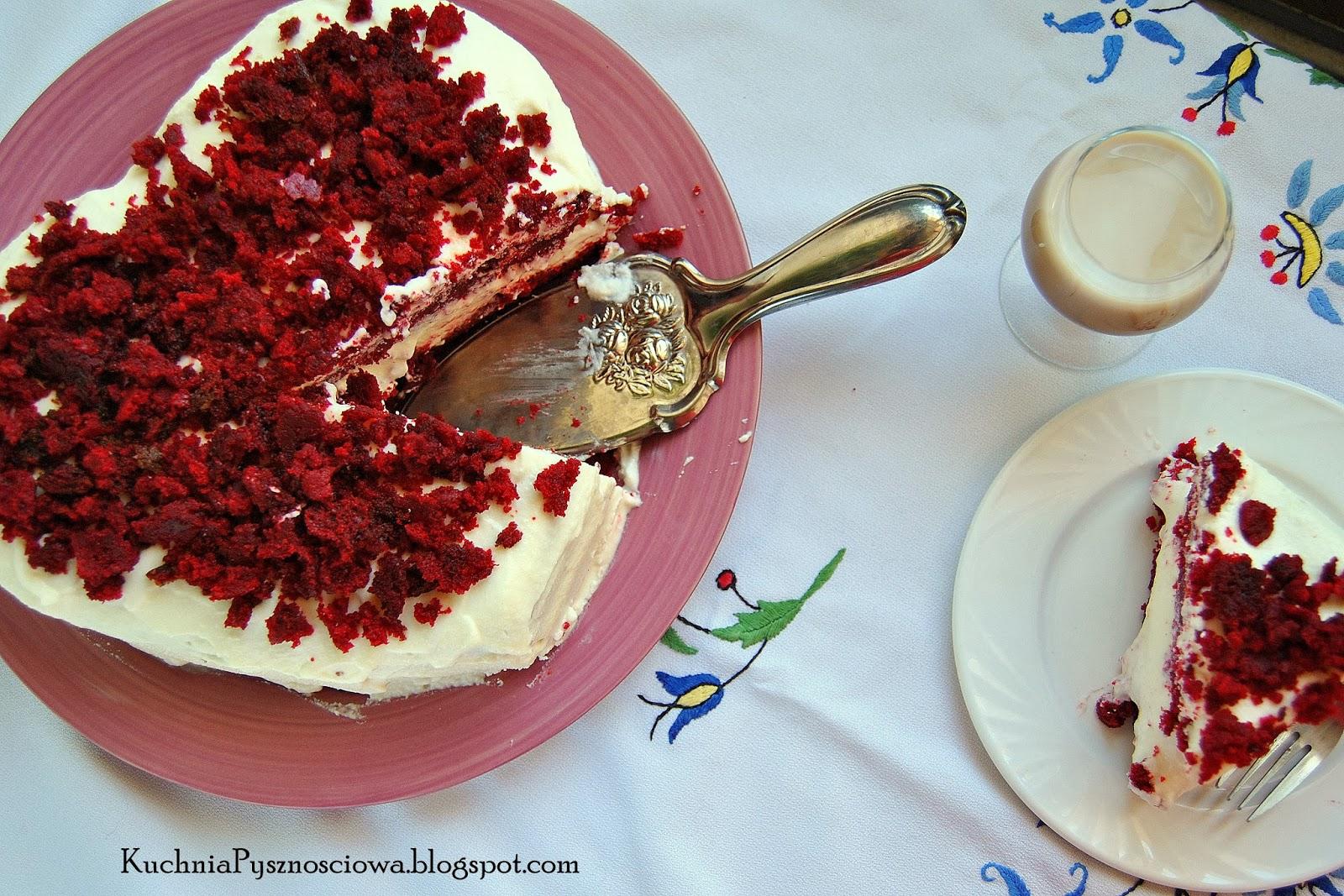187. Red velvet cake, czyli słodka klasyka na Walentynki