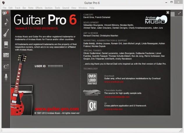 keygen guitar pro 6 free