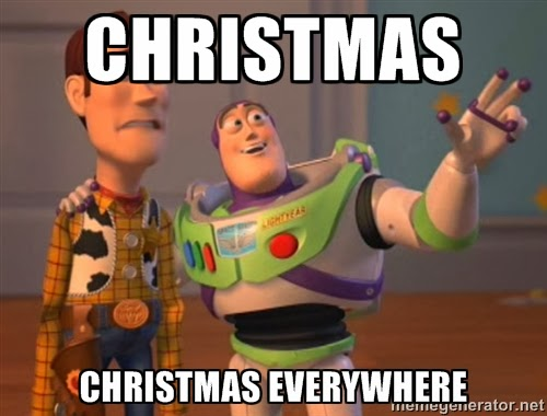 Christmas everywhere