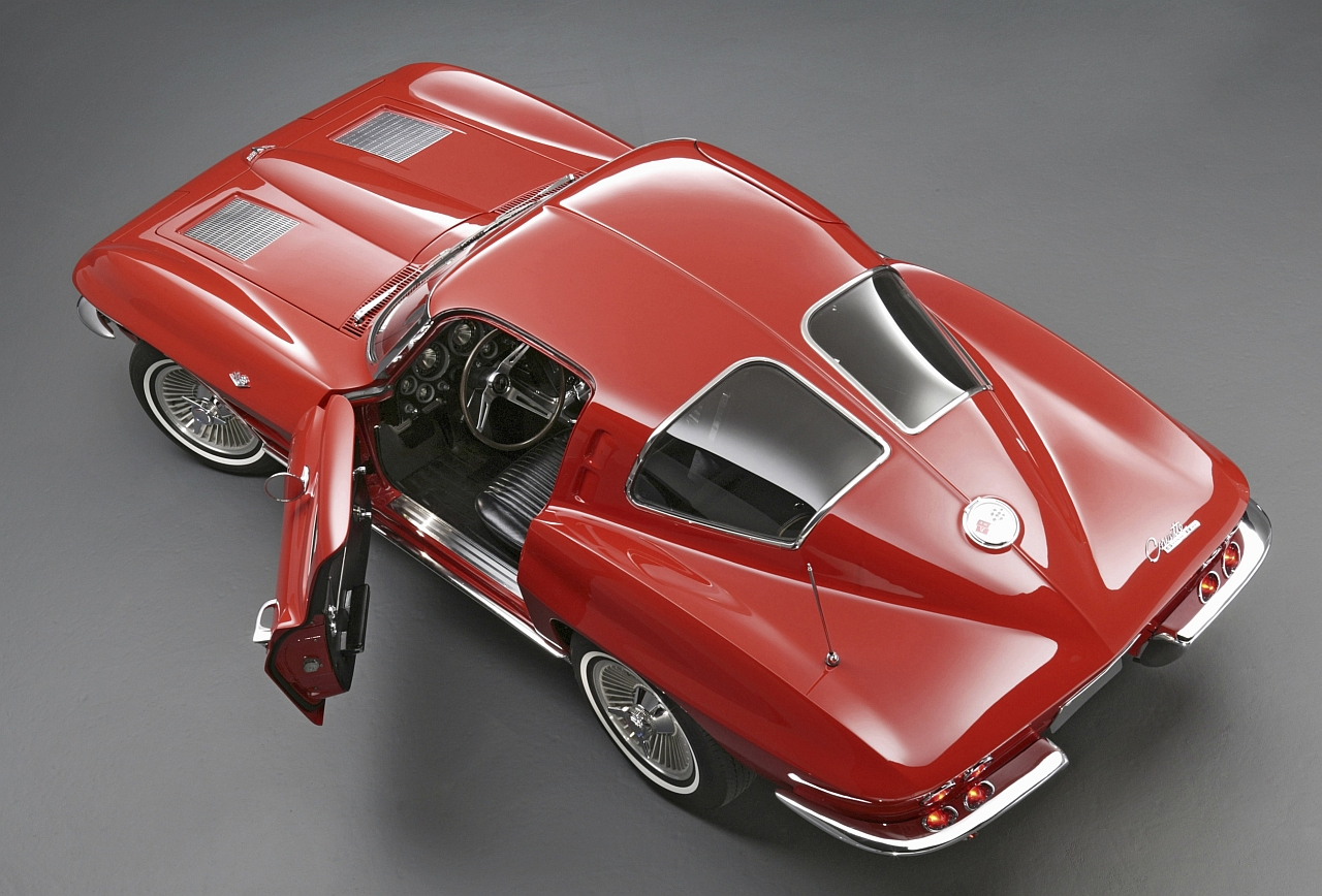 Sketchbook historic cars 1963 usa gm chevrolet for 1963 split window corvette 427