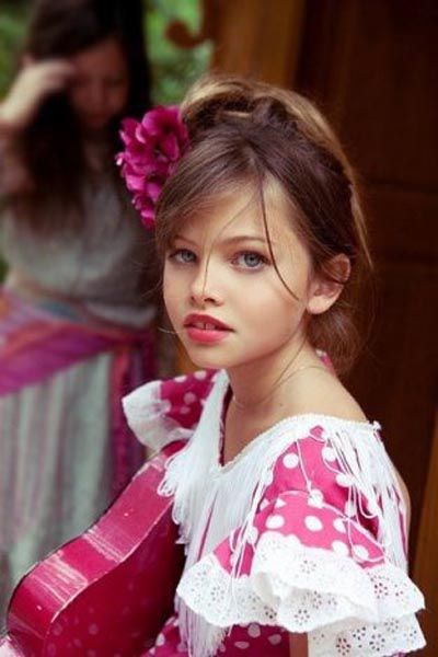 Thylane Loubry Blondeau 10-Year-Old Model