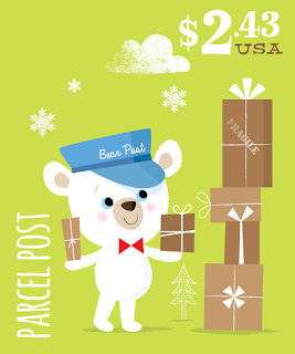 Bear Post 3
