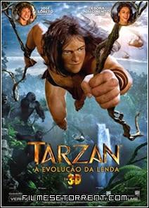 Tarzan A Evolução da Lenda Torrent Dual Áudio