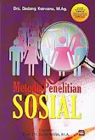 toko buku rahma: buku METODE PENELITIAN SOSIAL, pengarang dadang kuswana, penerbit pustaka setia