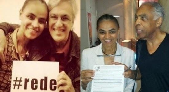 Tentando imaginar um diálogo entre Caetano Veloso, Gilberto Gil e Marina Silva