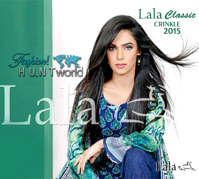 Lala Classic Crinkle Collection 2015 For Summer Season