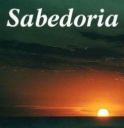 SABEDORIA: