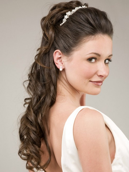 naturally curly wedding hairstyles wedding hairstyles for long hair