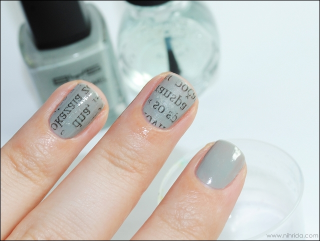 How To Newspaper Manicure