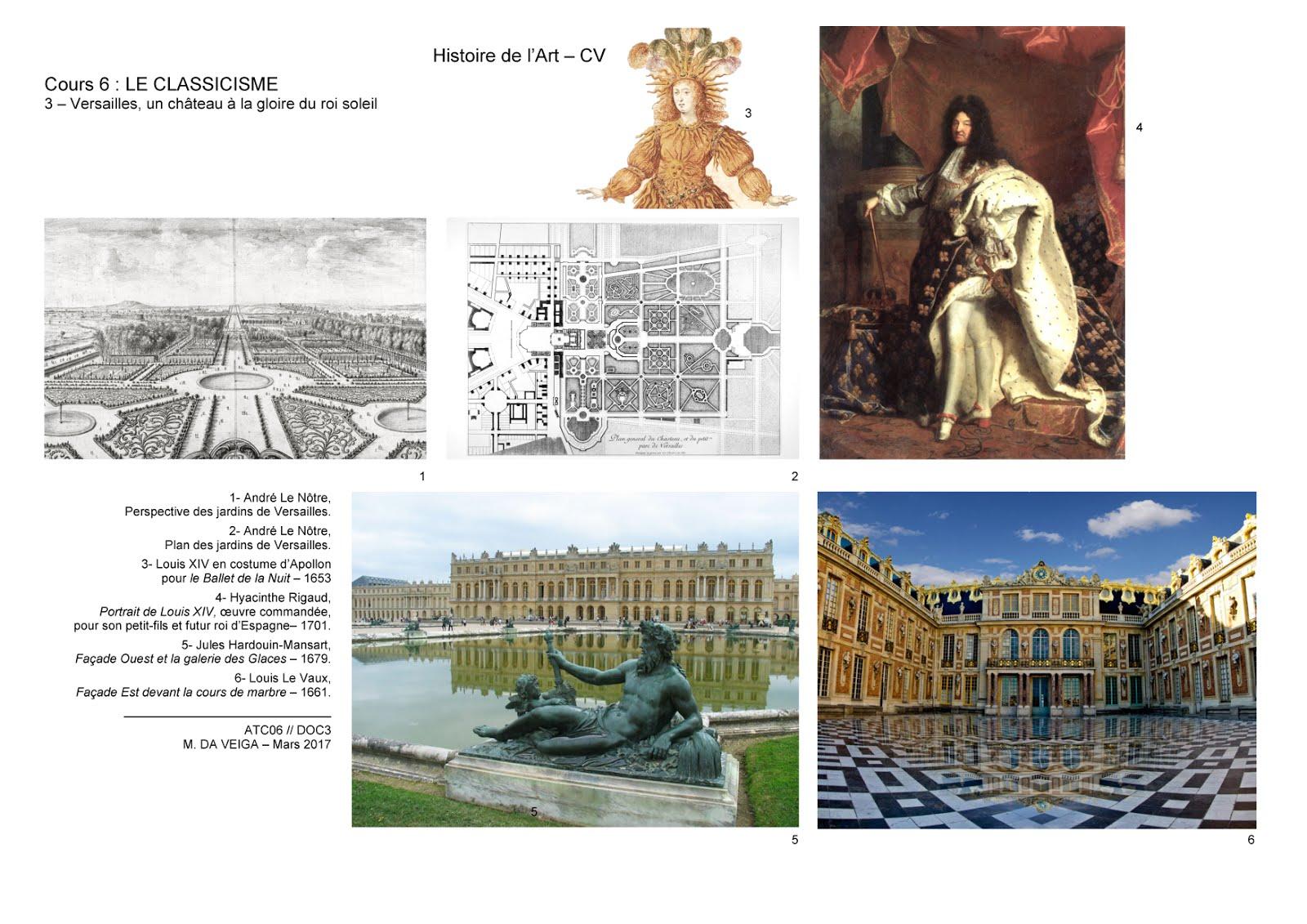 M da veiga histoire de l 39 art 1cv - Le jardin de versailles histoire des arts ...