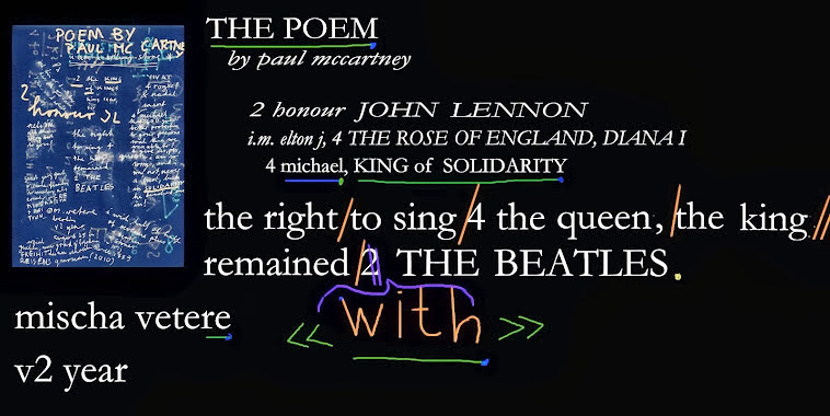 SOLIDARITY the poem THE BEATLES paul mccarntey john lennon michael jacksON POEM