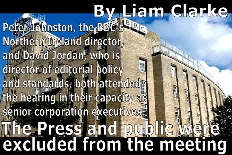 BBC chiefs met MLAs in private