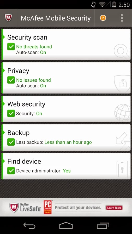 McAfee Antivirus And Security