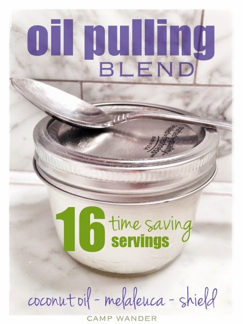 Easy Oil Pulling Blend With Essential Oils Camp Wander
