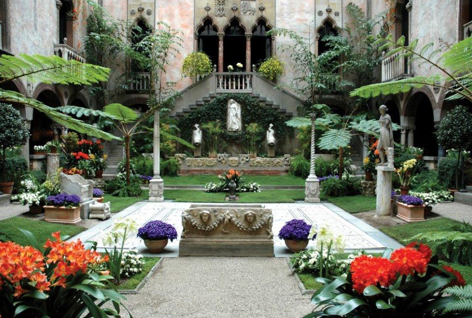 Regina In Boston Isabella Stewart Gardner Museum