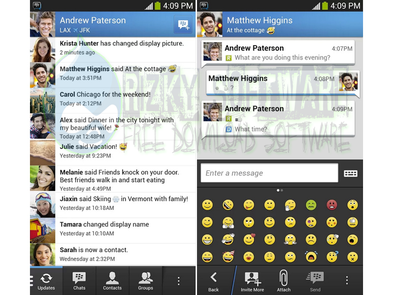 Download BBM 2.0.0.13 For Android APK