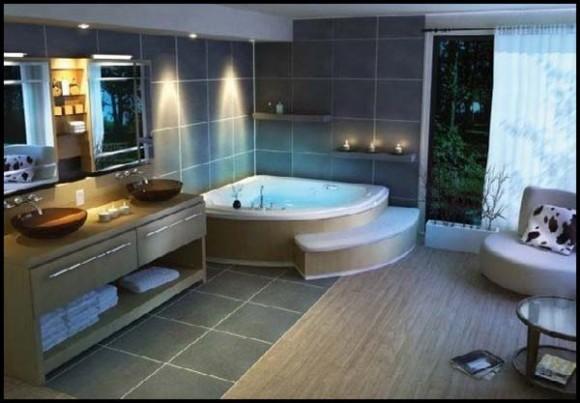 Diseño Unico y Moderno, Romántica Bañera de Hidromasaje en ...