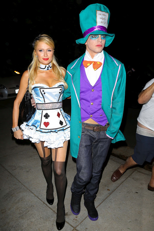 Paris Hilton at Halloween Party in Beverly Hills/></a></div> <br /> <table align=