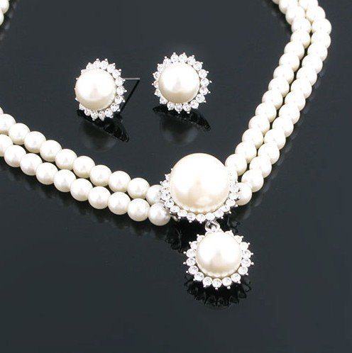 look beautiful with cheap wedding jewelry set wedding