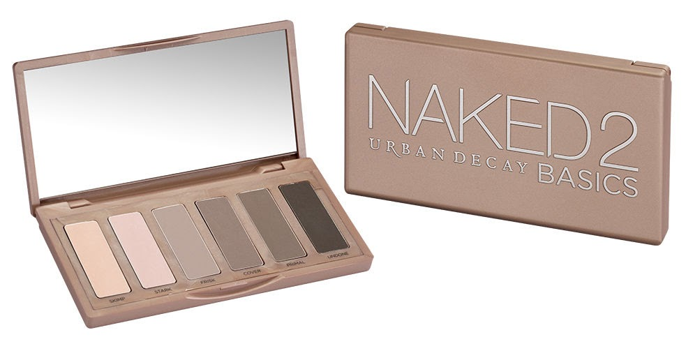 REVIEW: Urban Decay Naked Basics 2 Palette Swatches