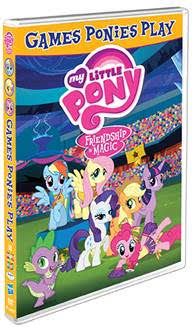 My Little Pony- Friendship is Magic: Games Ponies Play  cover