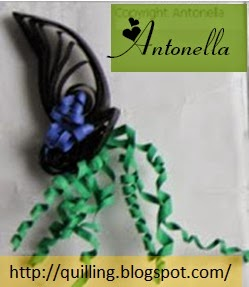 Free Quilled Quilling Witches Hat for Halloween