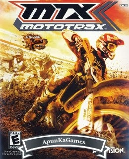 MTX Mototrax Cover, Poster