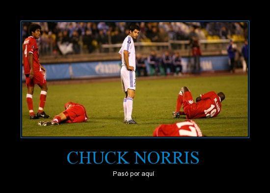 Chuck Norris gran luchador.....