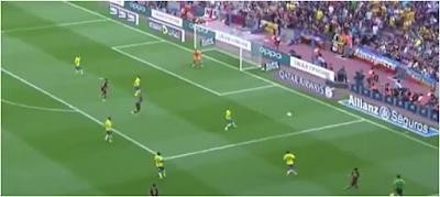 1-0 gol de Luis Suarez