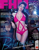 Bela Padilla stepping out of the shadows FHM cover