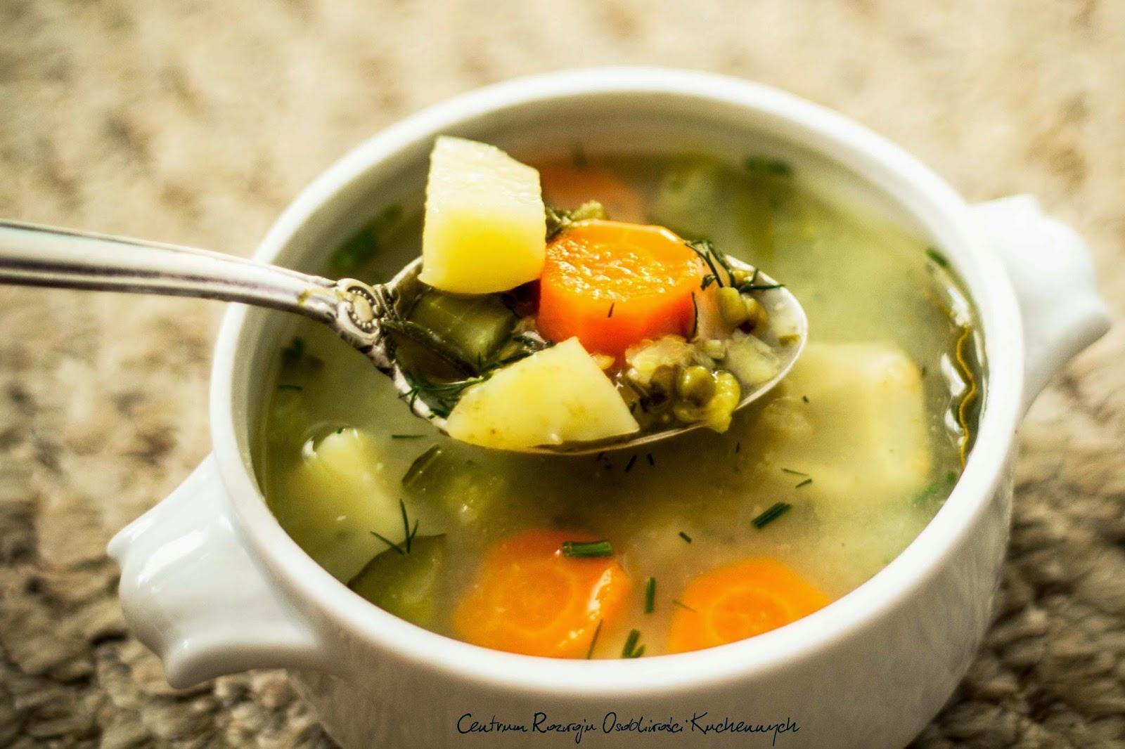 Jedna z prostszych i pyszniejszych zup...koperkowo-ogórkowa